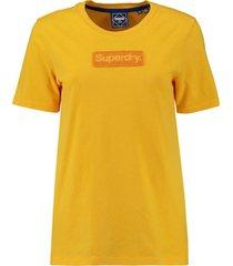 t-shirt workwear geel