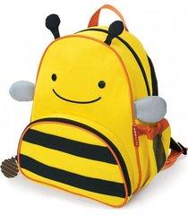 mochila amarilla skip hop abeja