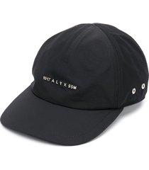 1017 alyx 9sm logo-embossed cap - black