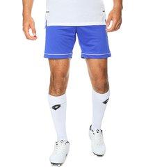 pantaloneta azul-blanco adidas performance squad 17 sho boblue