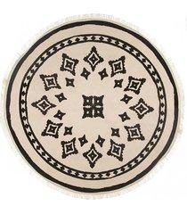 dywan bawełniany okrągły nomadic