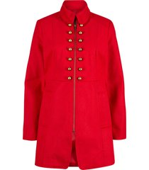 giaccone in stile militare maite kelly (rosso) - bpc bonprix collection