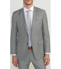 chaqueta casual gris trial
