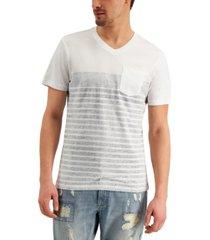 sun + stone men's stripe t-shirt, created for macy's