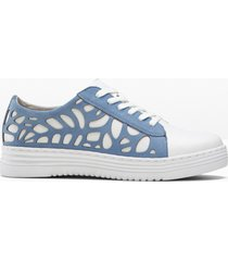 sneaker sostenibili larghezza h jana (bianco) - jana