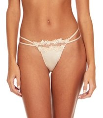 flora by flora nikrooz showstopper thong with venise lace