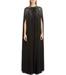 women's givenchy firework embellished silk cape
