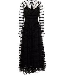 red valentino tulle dress