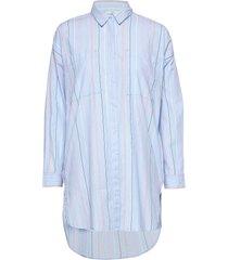 blouses woven långärmad skjorta blå edc by esprit