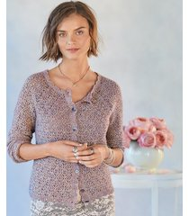 lavender fields cardigan sweater
