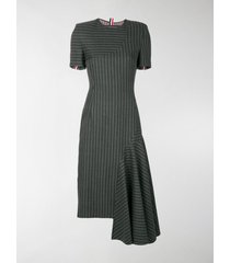 thom browne chalk stripe pencil dress