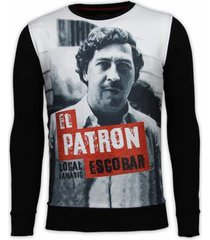 sweater local fanatic el patron escobar digital rhinestone