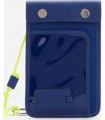 jw anderson women's pulley pouch - oxford blue