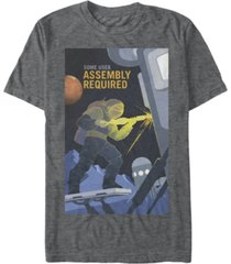 nasa men's mars some user assembly required short sleeve t-shirt