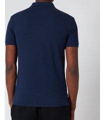 polo ralph lauren men's mesh knit slim fit polo shirt - spring navy heather - xl