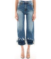 r13 jeans in light blue denim