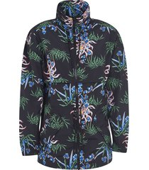 kenzo lightweight drawstring jacket