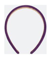 tiara lisa em veludo | accessories | roxo | u