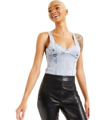 culpos x inc jean bodysuit, created for macy's