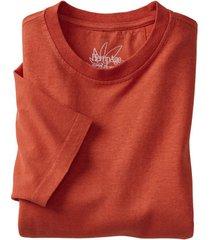 jersey t-shirt uit een mix van hennep en bio-katoen, terra l