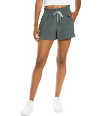zella camp shorts, size x-large in green urban at nordstrom