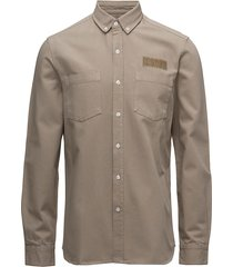 bear shirt - olive skjorta business beige forét