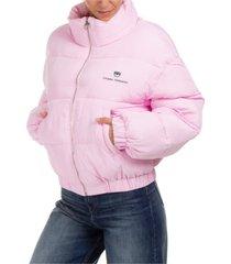 chiara ferragni logo band jacket