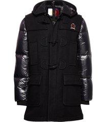 hcm down sleeve duffle coat fodrad jacka svart hilfiger collection