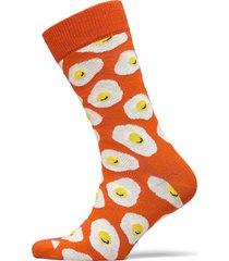 sunny side up sock underwear socks regular socks orange happy socks