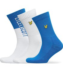 asher underwear socks regular socks blå lyle & scott