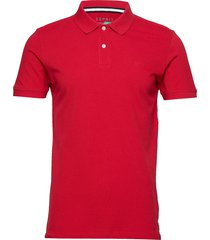 polo shirts polos short-sleeved röd esprit casual