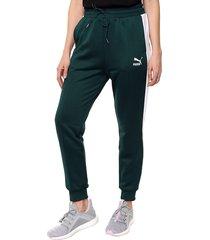 pantalón verde puma   classicst7 track pant pt