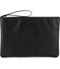 common projects flat clutch - black