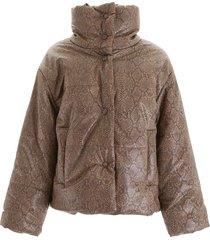 nanushka faux leather jacket