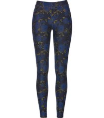 jeggings a fiori (blu) - bpc selection