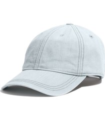 women's madewell faded denim baseball cap - blue