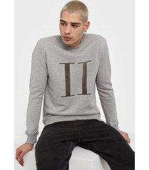 les deux encore sweatshirt tröjor grå