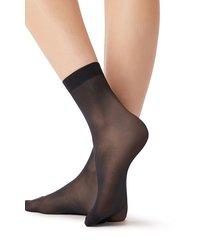 calzedonia 15 denier long-lasting socks woman blue size tu