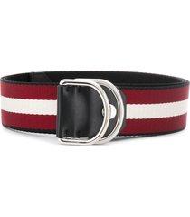 bally copper belt - red