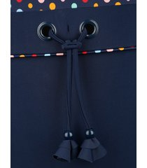 baddräkt maritim marinblå