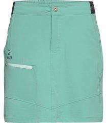 pallas women's x-stretch skort kort kjol grön halti