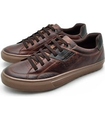 sapatenis casual connect - brown