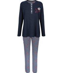 pyjama blue moon marine/wit/rood