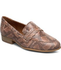 woms slip-on loafers låga skor brun tamaris