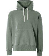 nigel cabourn embroidered arrow hoodie | washed army | ncj-55 arm