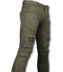 true rise biker jeans slim fit zipped biker jeans h paint drops