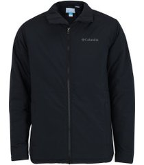jaqueta de frio fleece impermeável columbia northerm bound - masculina - preto