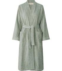 robe morgonrock grön rosemunde