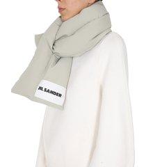 jil sander oversize scarf