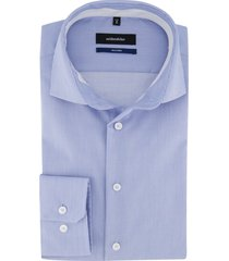 overhemd seidensticker tailored fit blauw